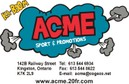 Acme Sport and Promotions - Your Source for Custom Screenprinting, Embroidery, Apparel and Accessories.  We offer you the largest number of options to meet all your decorating needs. 